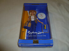 NEW BARBIE DOLL SYDNEY 2000 OLYMPIC PIN COLLECTOR EDITION VINTAGE 1999 MATTEL