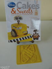EAGLEMOSS DISNEY CAKES & SWEETS WALL.E COMPONENTS PARTS SIL  MOULD   No 78  NEW