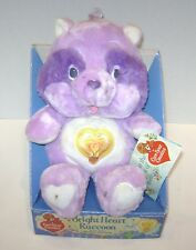 VINTAGE CARE BEARS BRIGHT HEART RACCOON BEAR COUSINS IN ORIGINAL BOX KENNER 1985