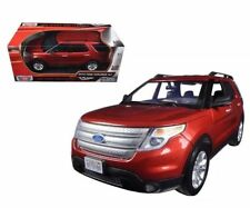2015 FORD EXPLORER XLT RED 1:18 DIECAST MODEL BY MOTORMAX 73186RD