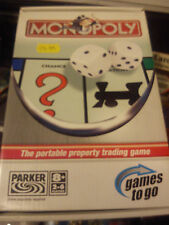 WADDINGTONS MONOPOLY THE PORTABLE PROPERTY TRADING GAME MINT TRAVEL GAME