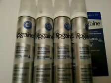 (4) ROGAINE 5% Minoxidil Topical Foam Sealed MENS 4 Month Supply 2.11oz 4 cans