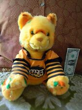 Build a Bear Halloween Jackolantern Pumpkin Cat With Candy Corn Outfit Stuffed