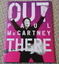 PAUL MCCARTNEY 2014 OUT THERE NEW TOUR PROGRAM W 3D GLASSES BEATLES DESERT TRIP