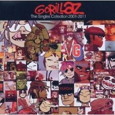 "GORILLAZ  ""THE SINGLES COLLECTION 2001-2011"" CD+DVD NEU"
