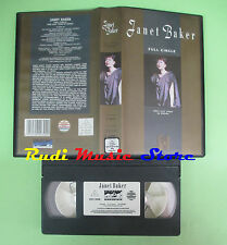 VHS Full Circle JANET BAKER Her last year in opera CASTLE (CL3) no cd dvd lp