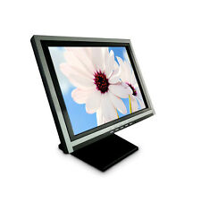 """15"""" Touch Screen Lcd Monitor Display 5-Wire Multi-Position Pos stand Restaurant"""