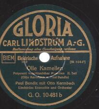 Paul Bendix 1933 mit Otto Kermbach + Lindström Ensemble : Olle Kamellen