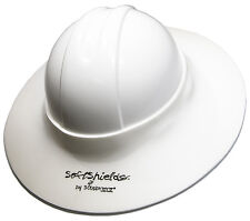 Construction Hard Hat Sun Visor WHITE