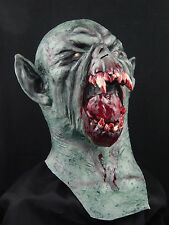 Bloody Drac Halloween Horror Latex Mask Prop, NEW