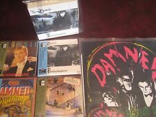 THE DAMNED 4 CD Replica JAPAN OBITREMENDOUSLY RARE LIMITED EDITION Box Set + LP