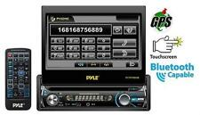 PLTS78DUB 7'' 1 DIN In-Dash Detach Touch LCD DVD CD MP3 USB Bluetooth Receiver