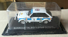 "DIE CAST "" SUNBEAM TALBOT LOTUS BRAZIL RALLY 1981 "" RALLY DEA SCALA 1/43"