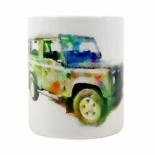 Land Rover Mug In watercolour