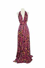 VON VONNI Women's Fuschia Vortex Transformer Dress Long One Size VVL101 $120