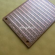 10x Stripboard Veroboard 5x7cm 2er joint hole platine Single Side circuit board