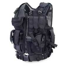 Yakeda Tactical Vest Army Fans Cs Swat Police Outdoor Body Armor load out play