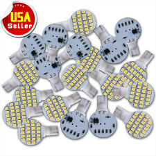20 x Super Bright T10 921 6000k White RV Interior 24SMD LED Light Bulbs 12v