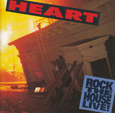 Heart CD Rock The House Live! - Europe
