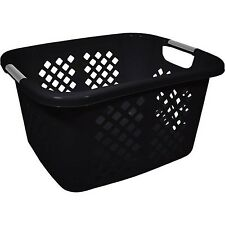 Home Logic 1.5-Bu Laundry Basket Black