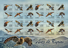 Sao Tome & Principe 2016 MNH Birds of Prey 24v S/A M/S Hawks Eagles Kites Stamps