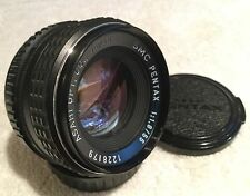 SMC PENTAX 55mm 1:1.8 PRIME LENS for PENTAX K MOUNT has LIGHT FUNGUS