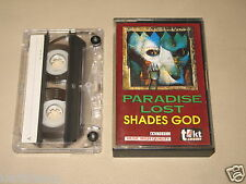 PARADISE LOST - Shades Of God - MC Cassette tape /1633 misspelled in album title