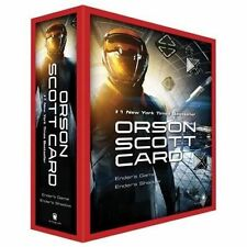 NEW The Ender Quintet Series.: Ender's Game Box Set by Orson Scott Card Shadow