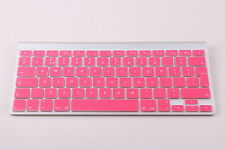 PINK UK / EU TASTIERA IN SILICONE COVER Protezione per Apple iMac, MacBook Pro