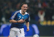 Franck Ribéry Signed Autograph Photo AFTAL COA France World Cup Bayern Munich