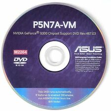 ASUS P5N7A-VM Motherboard Drivers Installation Disk M2264