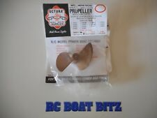 Rc Boat prop Octura x470R 2 blade Reverse Rotation