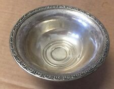 Vintage Sterling Silver Glastonbury   footed  compote dish weighted base