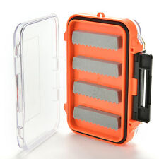 Double Side Waterproof Pocket Fly Fishing Box Slid Foam Insert Hold 170 Flies EW