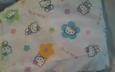 Hello Kitty Full Flat Sheet - Muli Color  By Sanrio Craft FABRIC