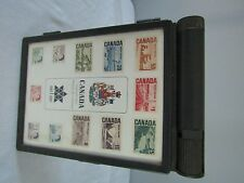 1867-1967 Canada Centennial Issue Stamp Case Box w/Stamps Mint Postage Box