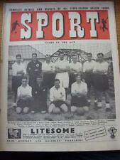 15/07/1949 Sport Magazine: Stars In The Sun Front Cover Image, Inside Team Group