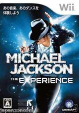 Used Wii Michael Jackson  Experience Nintendo JAPAN JP JAPANESE JAPONAIS IMPORT