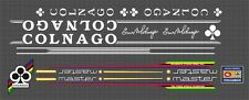 COLNAGO MASTER FRAME DECAL SET full white text