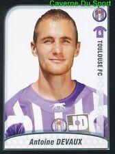 485 ANTOINE DEVAUX FRANCE ROOKIE TOULOUSE.FC TFC STICKER FOOT 2009-2010 PANINI