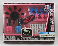 Nail Polish Set Monster High Clawsome Decals Nails File Toe Spacers BRAND NEW