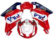 Injection Bodywork Panel Fairing Kit for Ducati 749 999 2003 2004 Red White Blue