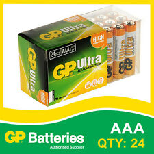 GP Ultra Alkaline AAA Battery box of 24 [MP3, CAMERAS GAMES CONSOLES + OTHERS]
