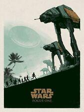 Matt Ferguson Star Wars ROGUE ONE Print Poster Bottleneck Not Mondo SOLD OUT!