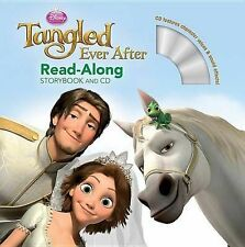 Bergen, Lara Ever After [With CD (Audio)] (Disney Tangled) Very Good Book