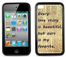 Vintage Love Story for Ipod Touch 4th Generation