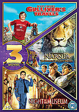 Gulliver's Travels / The Voyage Of The Dawn Treader / Night At The Museum DVD