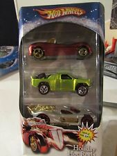 Hot Wheels Holiday Hot Rods Triple the Gift 3 pack! #3