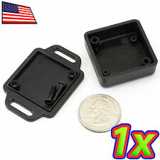 Tiny Mini ABS IP54 Plastic Enclosure IoT Arduino Project Case Box 36x36x15mm Tab