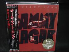 SAMMY HAGAR All Night Long + 1 JAPAN SHM MINI LP CD Van Halen Montrose HSAS